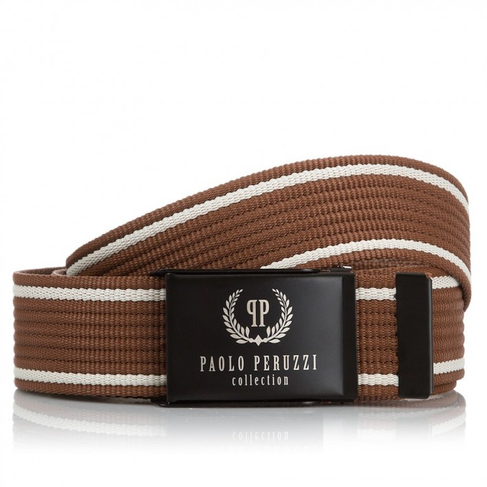 MĘSKI PASEK PARCIANY PAOLO PERUZZI PW-08-PP