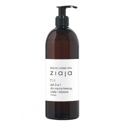 ZIAJA BALTIC HOME SPA ŻEL DO MYCIA 3W1 FIT 500 ML