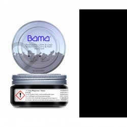 CZARNY KREM PIELĘGNUJĄCY DO OBUWIA BAMA 50 ML