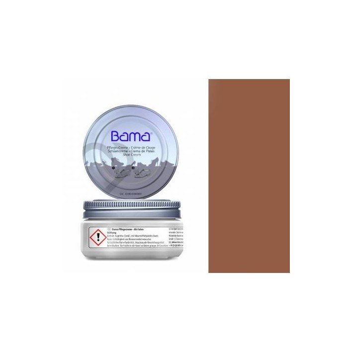 KREM PIELĘGNUJĄCY DO OBUWIA MAHOŃ BAMA 50 ML