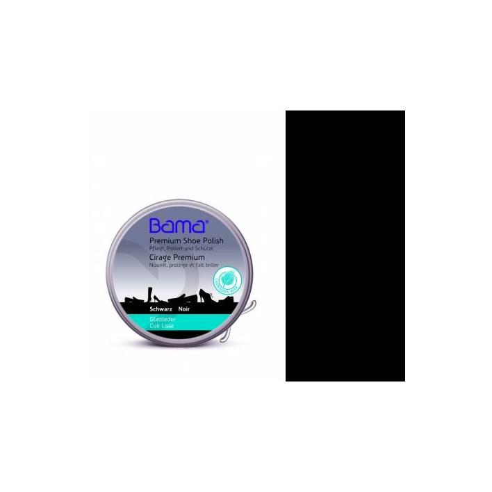 PASTA W FORMIE KREMU DO BUTÓW SKÓRZANYCH BAMA 50 ML 1010656/BLACK