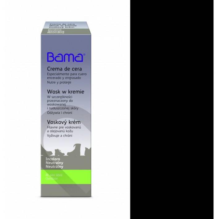 KREM Z WOSKIEM PASTA DO BUTÓW BAMA 50 ML 6093/BLACK