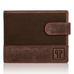 PORTFEL MĘSKI PAOLO PERUZZI RFID T-03-BR