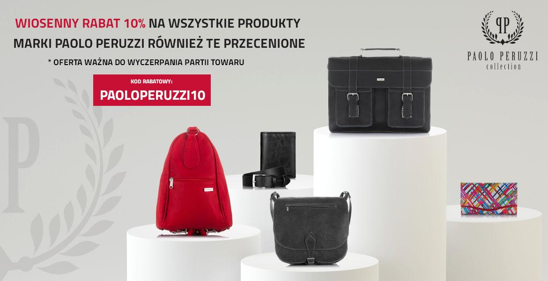 Promocja na produkty Paolo Peruzzi
