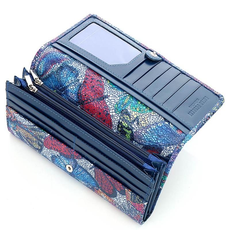 Skórzany portfel damski Paolo Peruzzi
