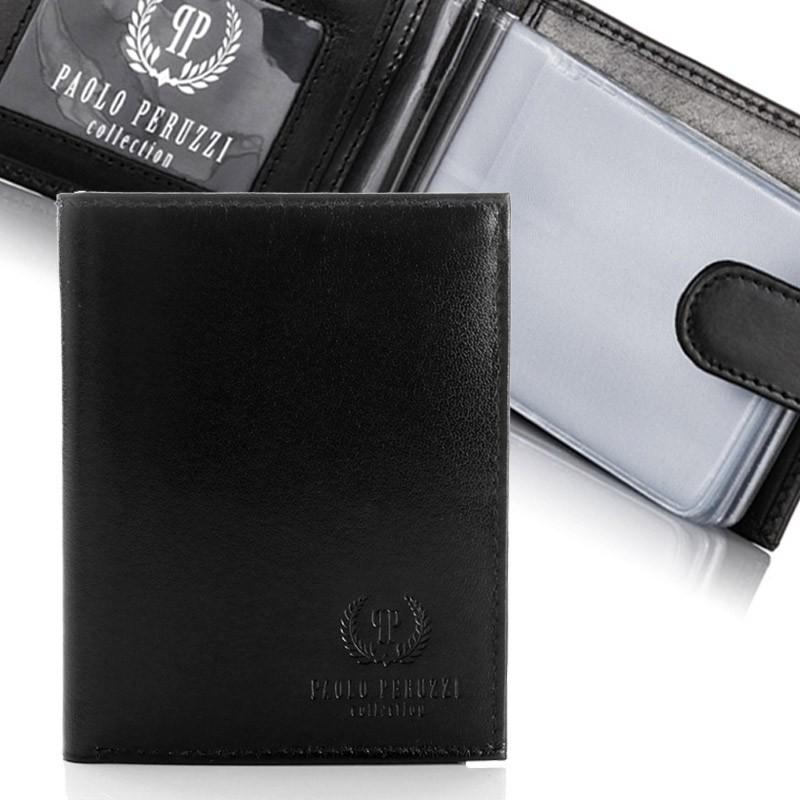 Zestaw upominkowy portfel + wizytownik Paolo Peruzzi