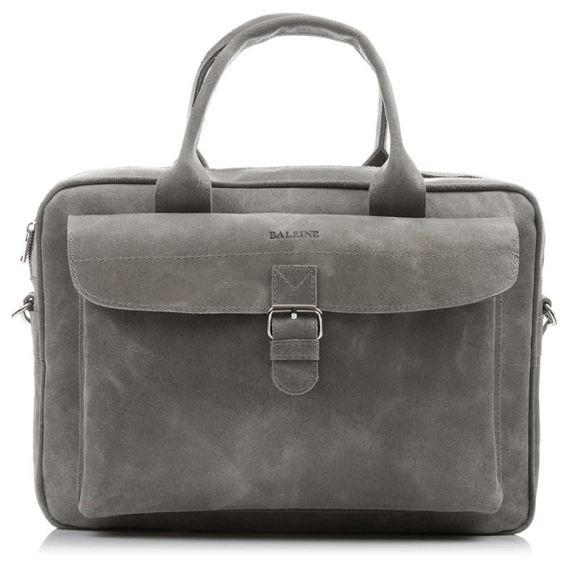 Skórzana torba męska na laptopa Baleine