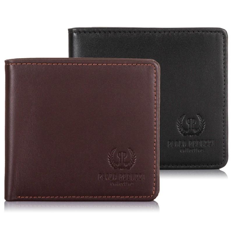 Skórzany portfel męski ze skóry cielęcej