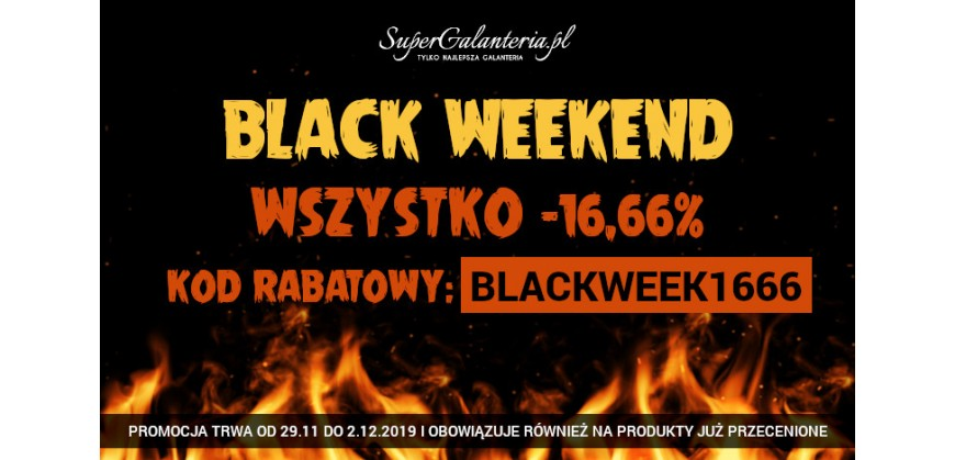 Black Friday ??? Nie Black Weekend !!!